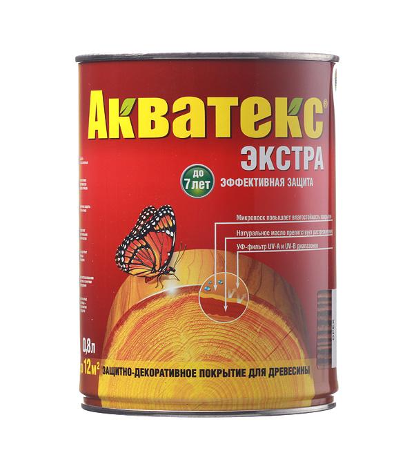 цена на Антисептик Рогнеда Акватекс Экстра орех 0.8 л