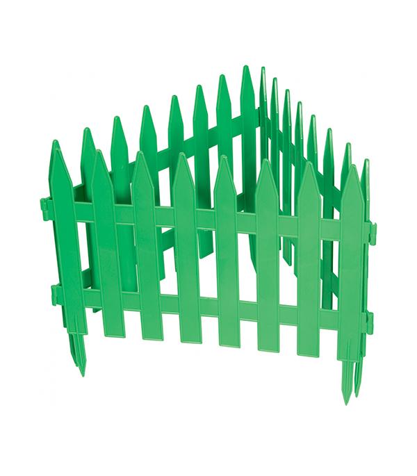 Забор декоративный PALISAD Рейка зеленый 28 х 300 см