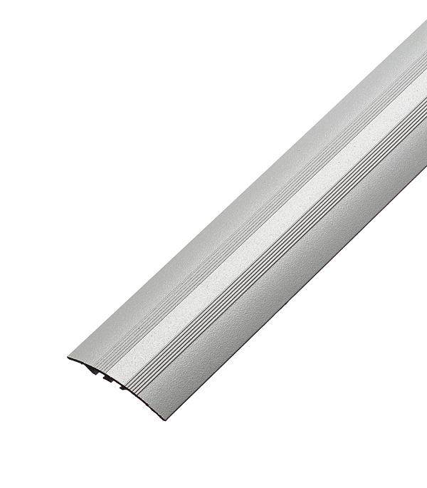 цена на Порог разноуровневый 40х1800 мм перепад до 8 мм Серебро