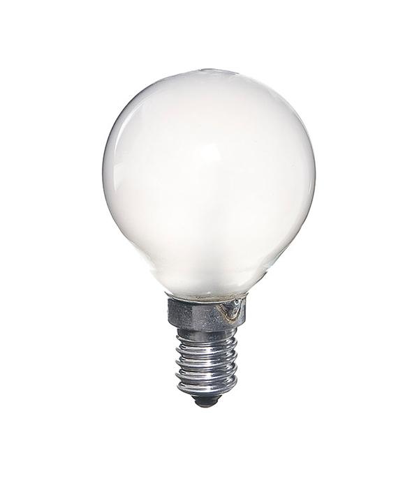 Лампа накаливания Philips E14 40W Р45 шар FR матовая лампа накаливания philips e14 60w р45 шар fr матовая