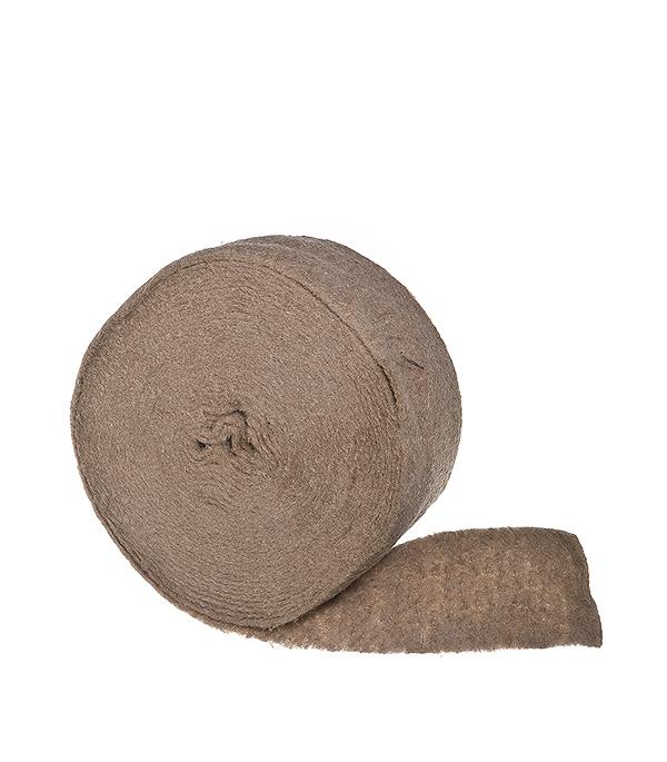 Утеплитель межвенцовый джутовый 4-6 мм 0,15х20 м фото