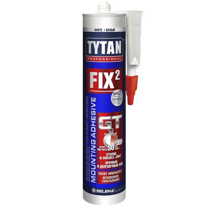 Клей монтажный Tytan Professional Fix2 GT белый 290 мл