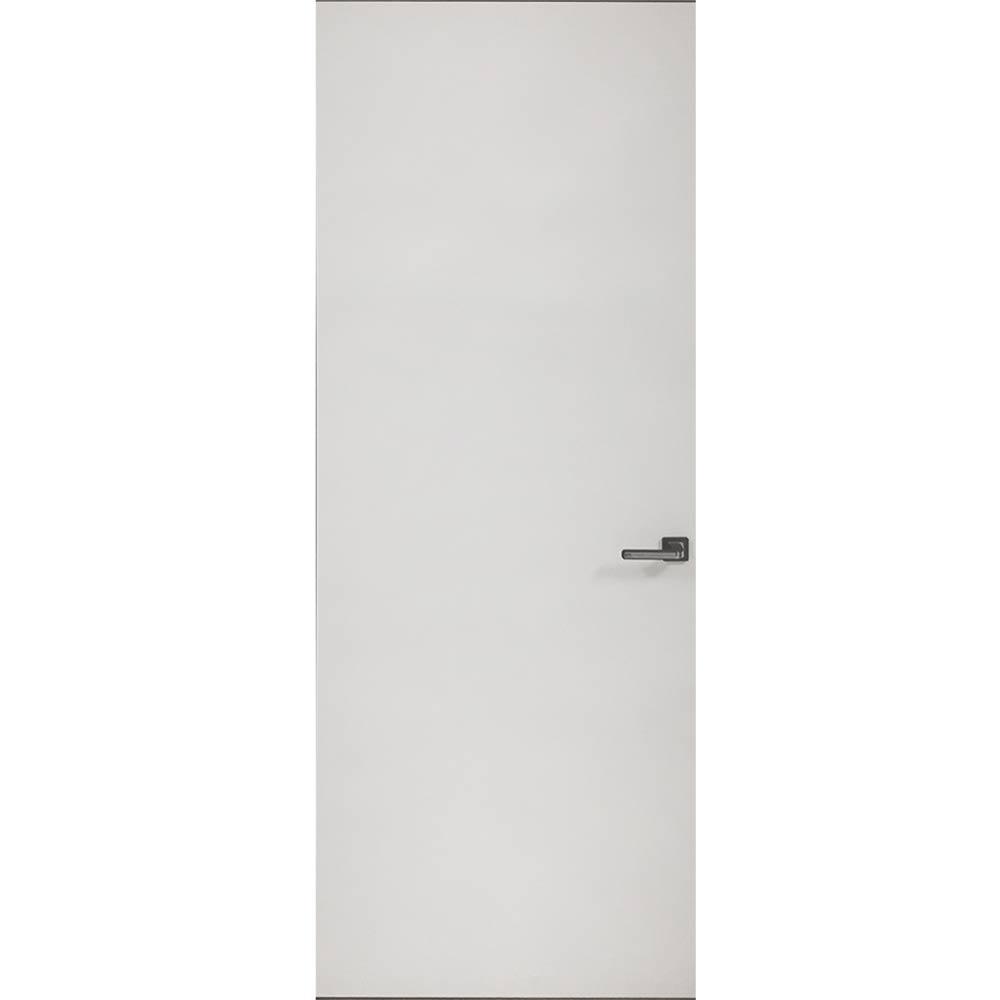 Дверное полотно VellDoris INVISIBLE глухое грунт под покраску 800x2000 мм