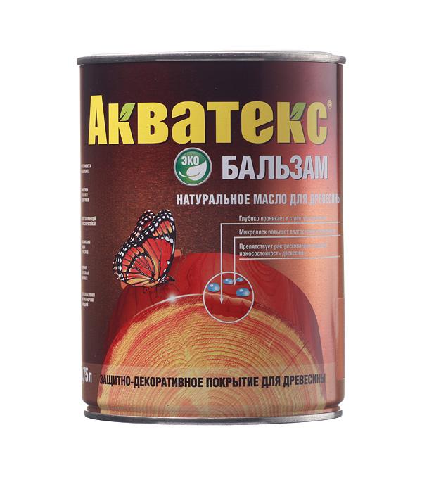 Масло для дерева Акватекс Бальзам лиственница 0.75 л