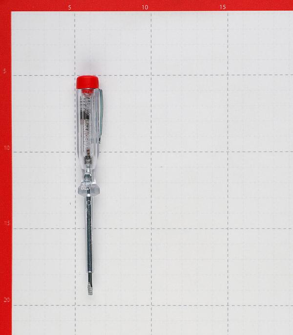 Отвертка Witte (24083) индикаторная 140 мм пластиковая ручка