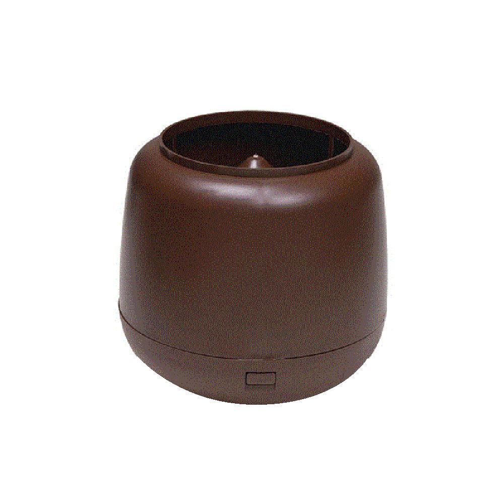 Колпак-дефлектор для трубы Vilpe d110 мм коричневый RR 887 (RAL 8017) фото