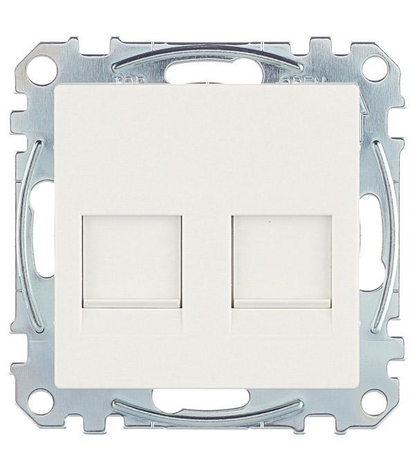 Механизм розетки компьютерной+ розетки телефонной Schneider Electric M-TREND с/у белый механизм розетки компьютерной schneider electric unica с у белый