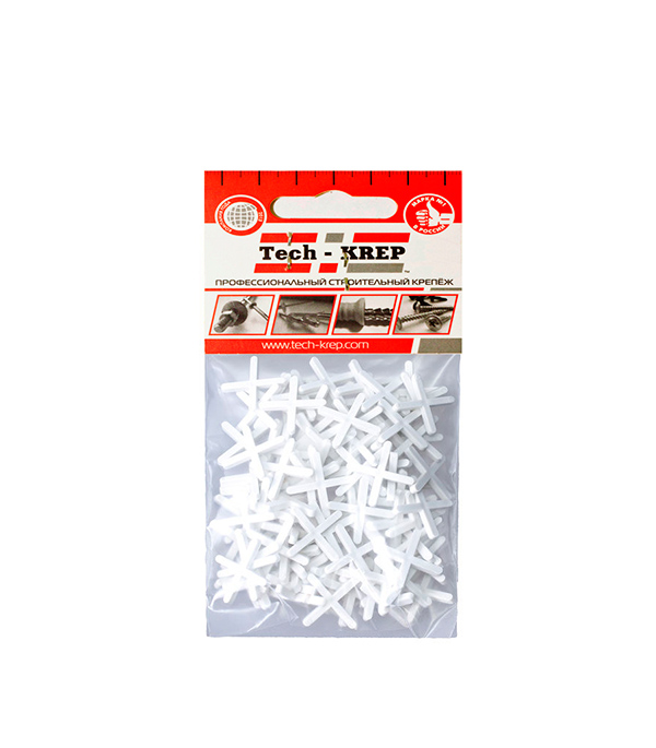 Крестики для плитки 2.0 мм (100 шт)