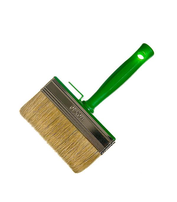 Кисть макловица 140х40 мм натуральная щетина пластиковая ручка макловица fit 01630