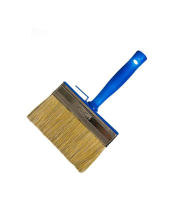 Кисть макловица 140х40 мм смешанная щетина пластиковая ручка кисть макловица sparta 841065