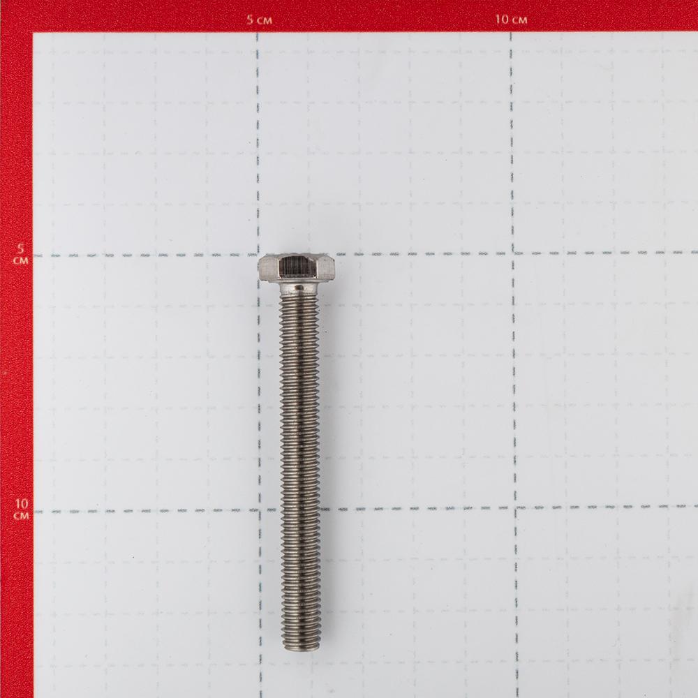 Болт нержавеющая сталь M8x70 мм DIN 933 (2 шт.).