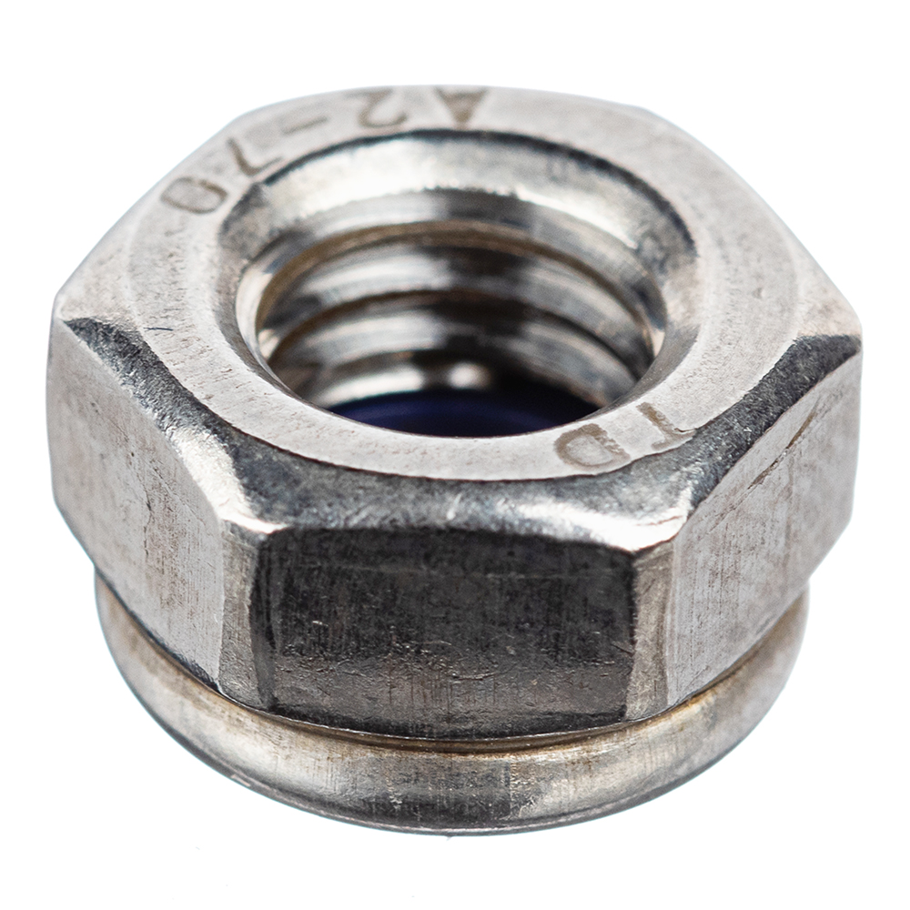 Фото - Гайка самоконтрящиеся нержавеющая сталь M8 DIN 985 (6 шт.) гайка колпачковая m8 din 1587 2 шт