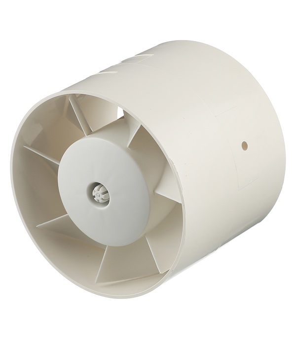 Вентилятор канальный осевой d125 мм Cata MT-125 слоновая кость вентилятор канальный cata mt 150