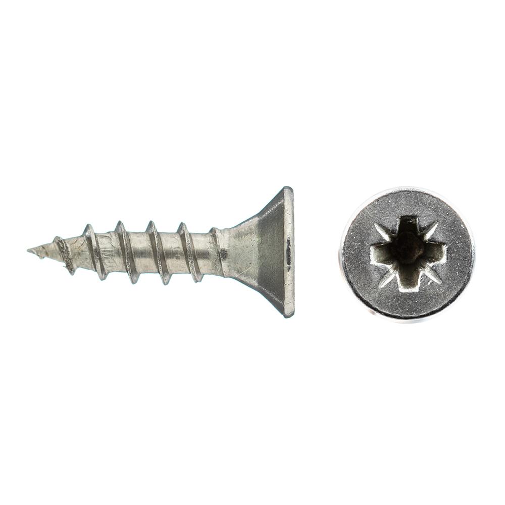 Саморезы универсальные 12x3.0 мм нержавеющая сталь (15 шт.)