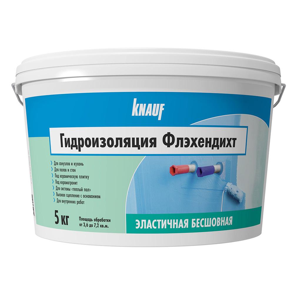 цена на Гидроизоляция Knauf Флэхендихт 5 кг