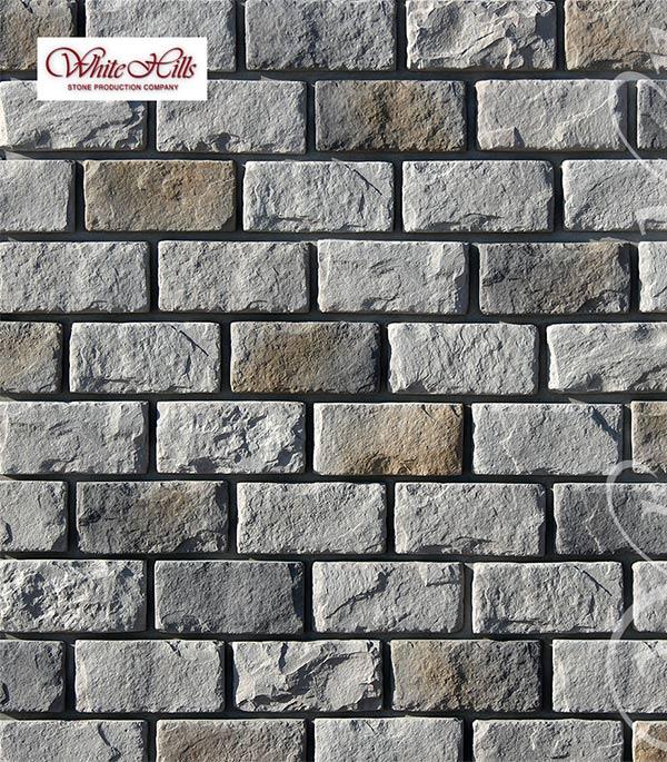 Искусственный камень White Hills Мини Шеффилд светло-серый (44 шт=1.02 кв.м)
