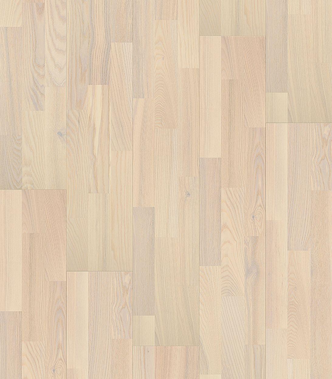 Паркетная доска трёхполосная BLANCO ясень тренд 3П белый матовый лак 14мм паркетная доска tarkett salsa art vanila clouds 2283x194x14 мм