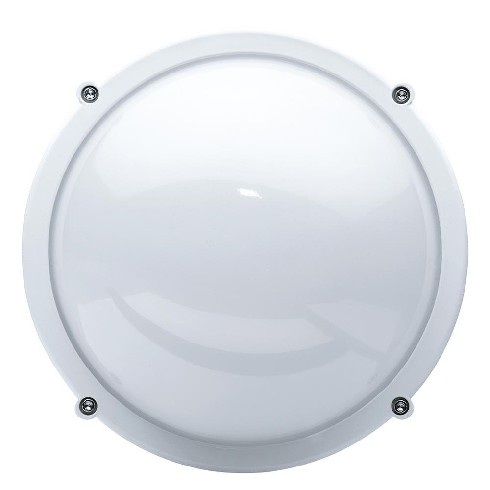 Светильник светодиодный накладной Navigator NBL LED 171х171х77 мм 8 Вт 170-264 В 4000 К дневной свет IP65 круглый белый