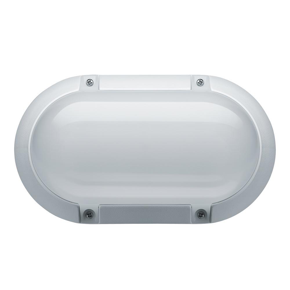 Светильник светодиодный накладной Navigator NBL LED 208х120х74 мм 8 Вт 200-240 В 4000 К дневной свет IP65 овальный белый