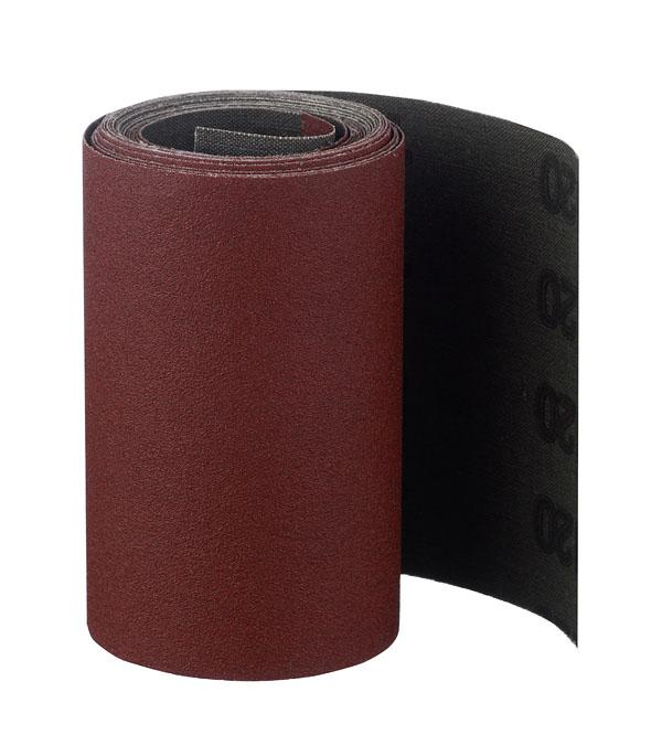 Шлифовальная шкурка на тканевой основе Р120 100 мм 3 м полоса шлифовальная kwb 93x230мм р120 10шт