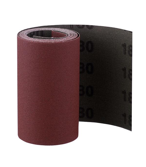 Шлифовальная шкурка на тканевой основе Р180 100 мм 3 м
