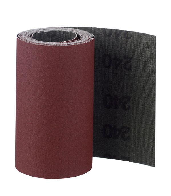 Шлифовальная шкурка на тканевой основе Р240 100 мм 3 м