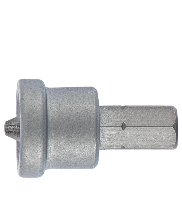 Бита PH2 25 мм с ограничителем для ГКЛ (2 шт) упаковка 1000 шт саморезов гипрок дерево 3 8х25 мм