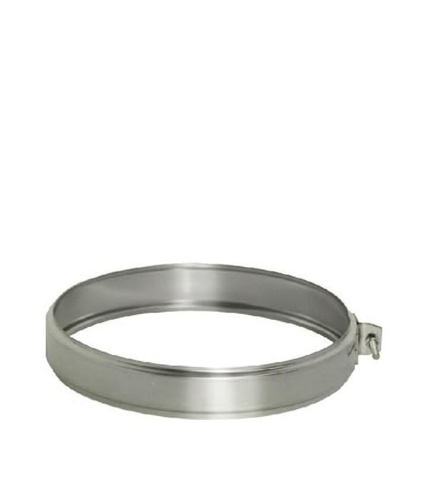 Хомут Дымок соединительный на трубу 150x230 хомут дымок с креплением к стене на трубу 150