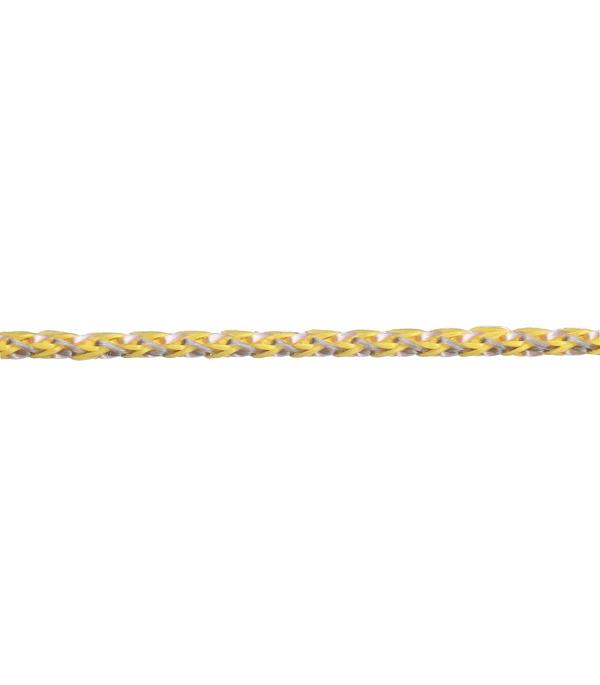 Плетеный шнур цветной d3 мм полипропиленовый, повышенной плотности 50 м