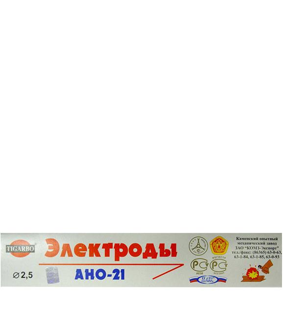 купить Электроды Каменский ОМЗ АНО-21 2 мм 1 кг дешево