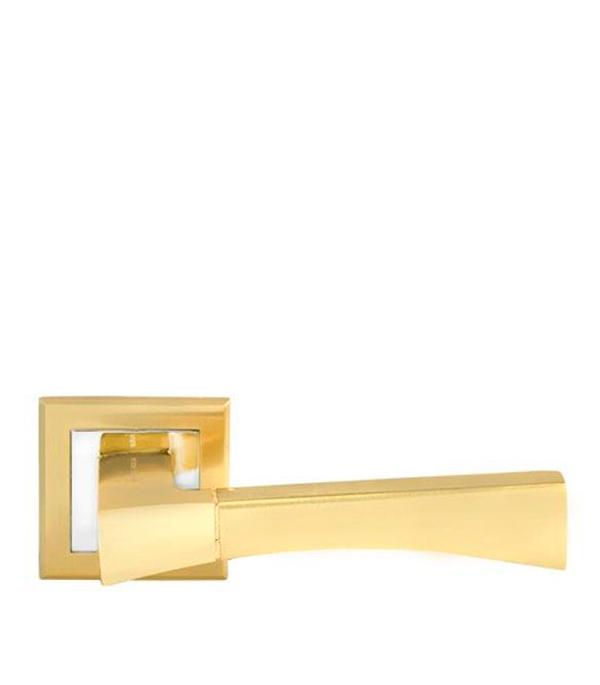 Дверная ручка Palladium City A Trevi SG/GP матовое золото/золото trevi юбка