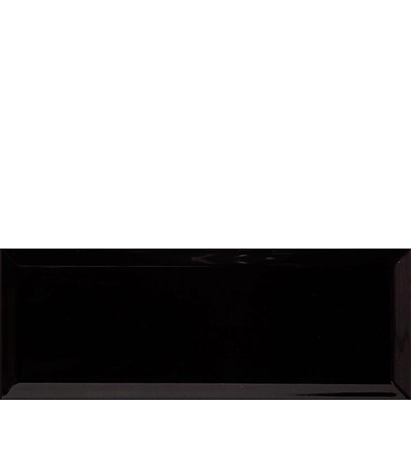 Плитка облицовочная Kerama Marazzi Вилланелла 150х400х8 мм черный грань (18 шт = 1,08 кв.м) напольная плитка kerama marazzi дайсен антрацит sg211600r 30x60