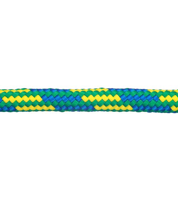 Шнур плетеный полипропиленовый 24 пряди d8 мм повышенной плотности фото