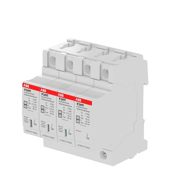 Ограничитель напряжения УЗИП OVR H T1-T2 3N 12.5-275s P QS