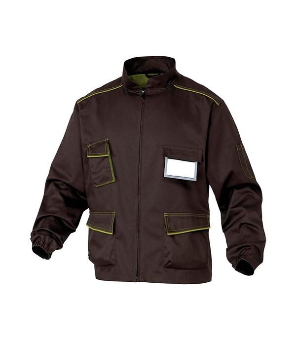 Куртка рабочая Delta Plus Panostyle 56-58 рост 180-188 см цвет коричневый/зеленый раствор sauflon delta plus 110ml