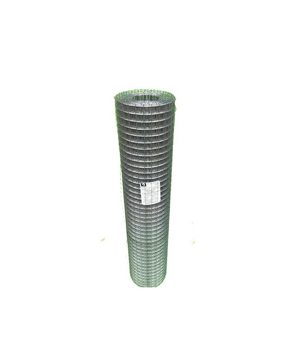 Сетка штукатурная сварная оцинкованная ячейка 25х25 мм d0,8 мм (рулон 1х25 м) сетка стеклотканевая rigor ячейка 2х2 мм рулон 1х20 м профи