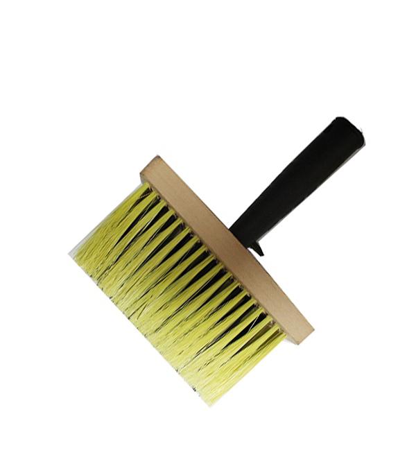 Кисть макловица 150х70 мм искусственная щетина деревянный корпус макловица fly profi натуральная щетина 30 х 100 мм