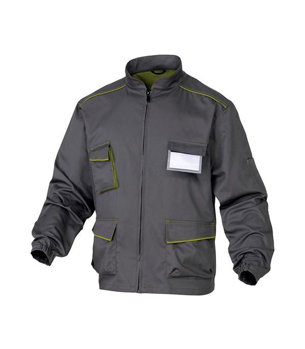 Куртка рабочая Delta Plus Panostyle 48-50 рост 164-172 см цвет серый/зеленый раствор sauflon delta plus 110ml