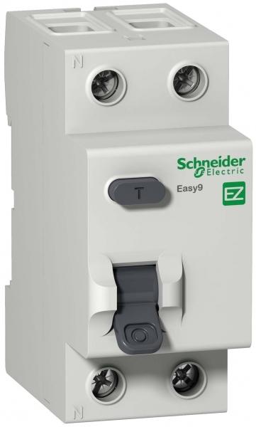 УЗО Schneider Electric Easy9 (EZ9R34263) 63 А 30 мА 2P тип AC 4,5 кА фото