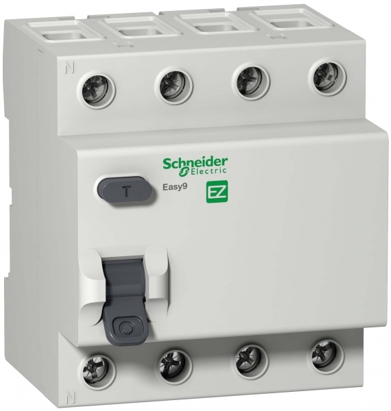 УЗО Schneider Electric Easy9 (EZ9R34463) 63 А 30 мА 4P тип AC 4,5 кА