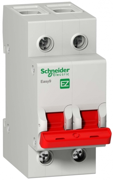 Рубильник Schneider Electric Easy9 (EZ9S16263) 2P 63 А 400 В на DIN-рейку фото