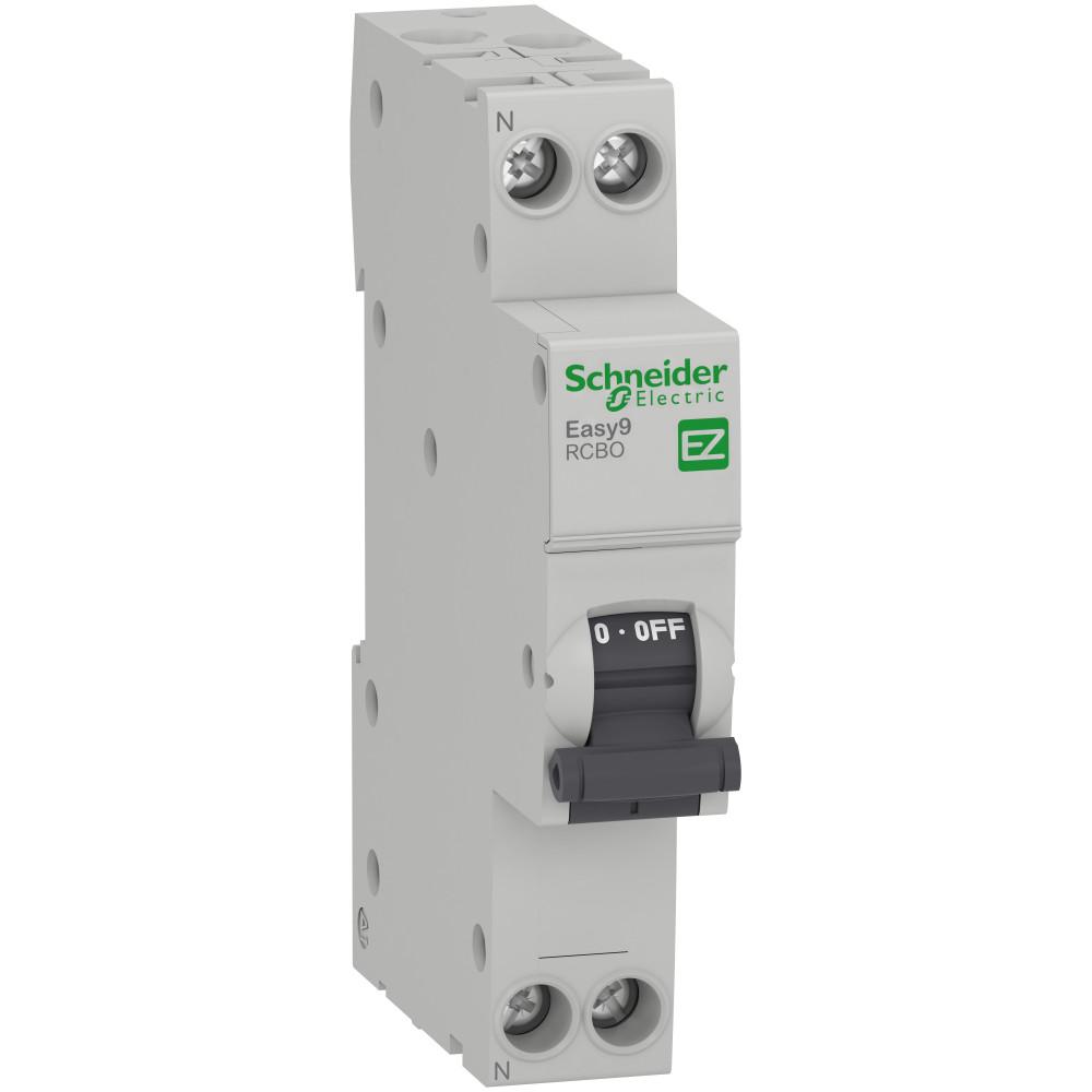 Автомат дифференциальный Schneider Electric Easy9 (EZ9D63616) 16 А 10 мА 1P+N тип AC 4,5 кА
