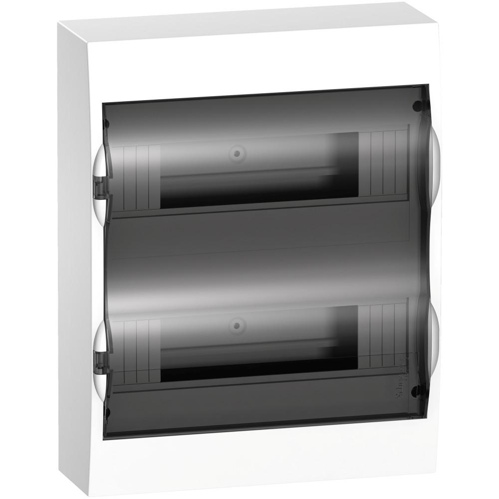 Щит распределительный навесной Schneider Electric Easy9 пластиковый IP40 326х256х96 мм 24 модуля щит навесной 2 4 модуля с дверцей белый упм ip40