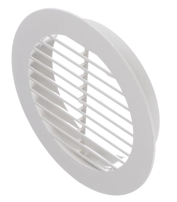 все цены на Вентиляционная решетка наружная круглая пластиковая d130 мм c фланцем d100 мм онлайн