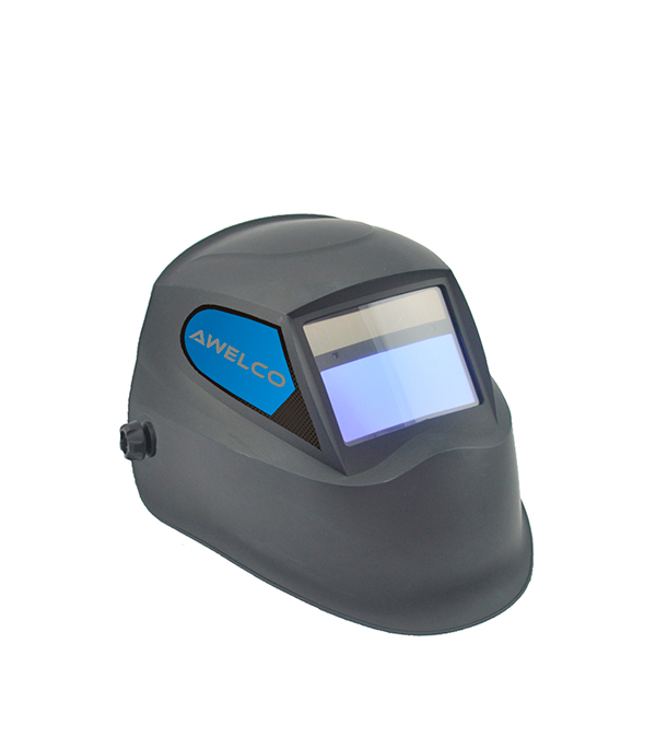 Маска сварочная Awelco Helmet 2000 E 9-13 DIN 9-13 sellstrom 24400fba 611 america titan nylon lightweight welding helmet with impulse magsense shade 9 13 auto darkening filter
