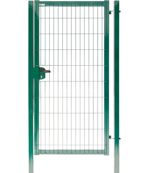 Купить Калитка GrandLine 2030x1000 мм ячейка 55х200 мм зеленый RAL 6005, Зеленый, Сталь