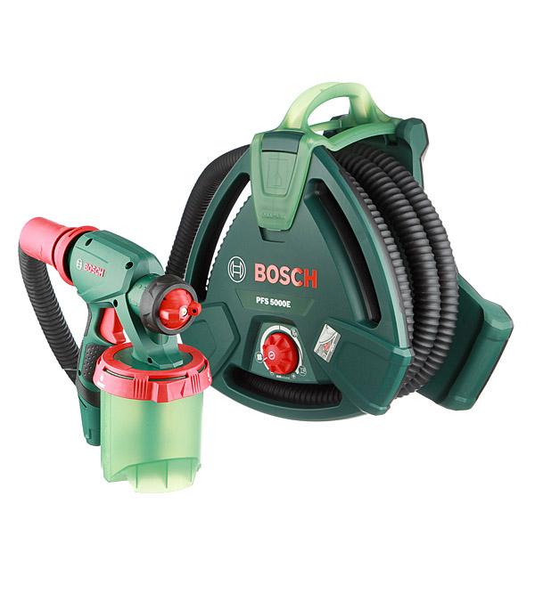 Электрический краскопульт Bosch PFS 5000E 1200 Вт 1000 мл краскопульт электрический bosch pfs 5000 e