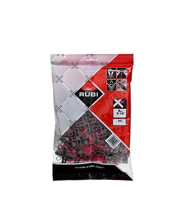 Крестики для плитки Rubi 8 мм (50 шт) плиткорез ручной rubi pocket 50 set 51 см 12 мм в кейсе