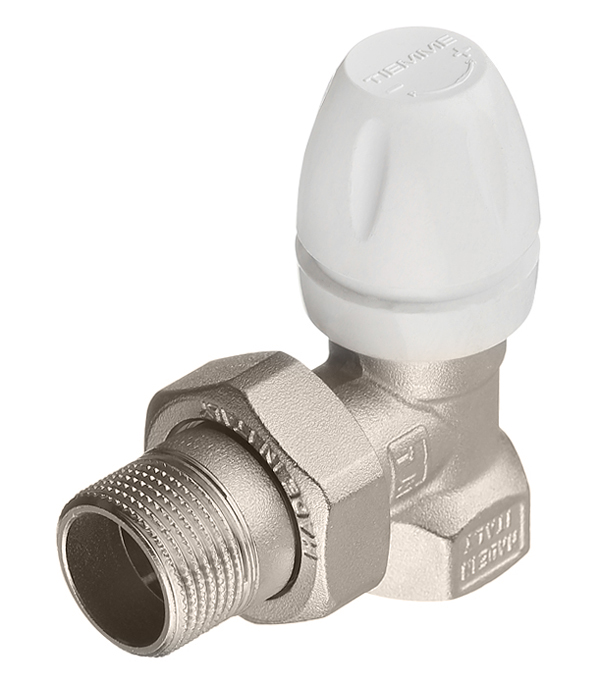 Вентиль термостатический угловой 3/4 Tiemme