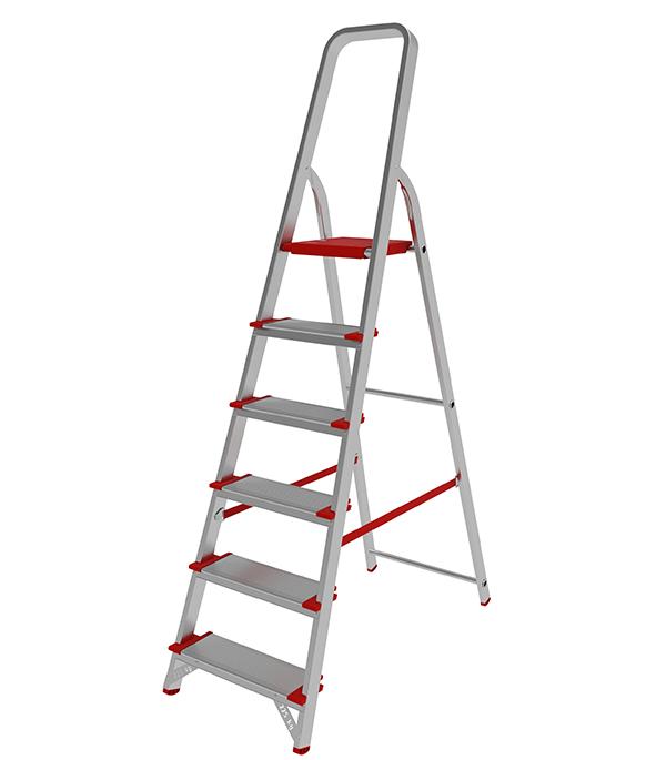 Стремянка Новая высота алюминиевая усиленная 6 ступеней